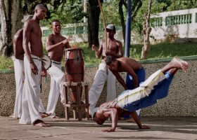 Capoeira group (Itaparica, Brazil)